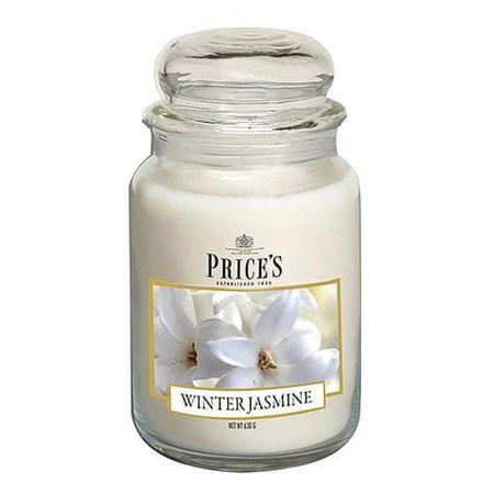 Price's Candles Gyertya üvegedénybe Ár gyertyák, Téli jázmin, 630 g