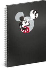 Mickey Mouse Špirálový blok Mickey – Question, linajkovaný, A4