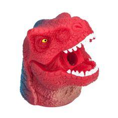 Dino World Ořezávátko ASST, Hlava donosaura s krátkou tlamou, červeno-modrá