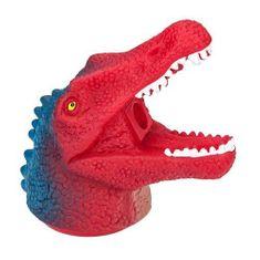 Dino World Ořezávátko ASST, Hlava dinosaura s dlouhou tlamou, červeno-modrá