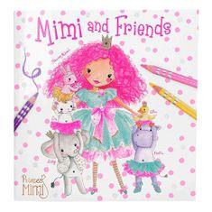 Princess Mimi Omalovánky , Princezna Mimi a přátelé