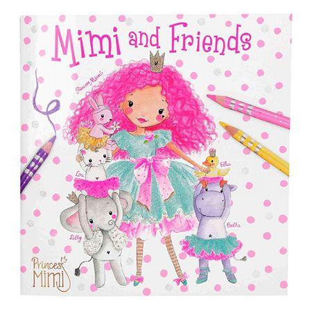 Princess Mimi Kolorowanka Księżniczka Mimi, Księżniczka Mimi i przyjaciele