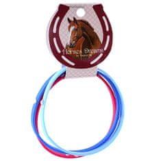 Horses Dreams Náramky , tmavě modrá, růžová, modrá