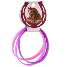 Horses Dreams Náramky , růžová, tmavě fialová, fialová