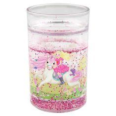 My Style Princess Plastový pohárik , Princess Mimi, s dvojitou stenou s trblietkami