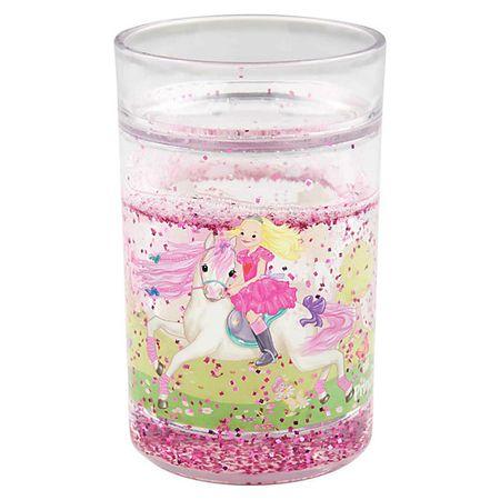My Style Princess Műanyag pohár , Mimi hercegnő, dupla fallal, csillogással