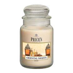 Price's Candles Svíčka ve skleněné dóze Price´s Candles, Orientální noci, 630 g