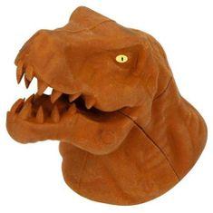 Dino World Gumovací pryž ASST, Hnědý T-Rex, 3D puzzle