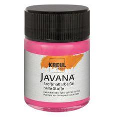C.Kreul Barva na textil , Javana, 50 ml, růžová