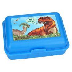 Dino World Svačinový box , Modrá