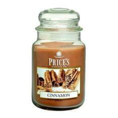 Price's Candles Svíčka ve skleněné dóze Price´s Candles, Skořice, 630 g