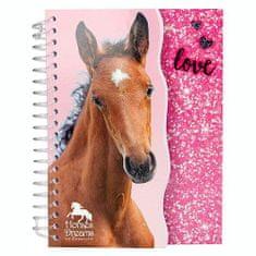 Horses Dreams Zápisník ASST, Růžový, 70 stran
