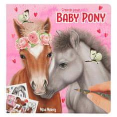Miss Melody Kolorowanka, kreatywny zestaw Miss Melody, Baby Pony, z naklejkami