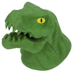 Dino World Gumovací pryž ASST, Zelený T-Rex, 3D puzzle