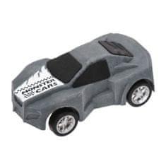 Monster Cars Guma v tvare auta ASST, Sivá