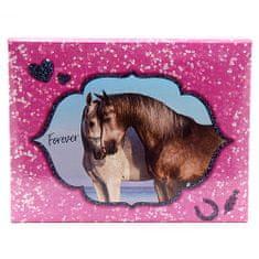 Horses Dreams Pouzdro na kancelářské potřeby , Forever, růžové