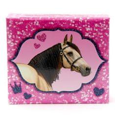 Bloček s ceruzkou Horses Dreams ASST, Ružový