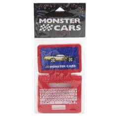 Monster Cars Gumovací pryž , červená, ve tvaru laptopu