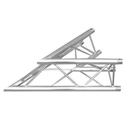 Alutruss gradnja zgradb, Trilock 6082AC-19, 2-končni vogalni kos 45 °