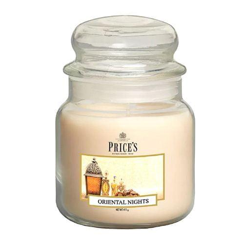 Price's Candles Svíčka ve skleněné dóze Price´s Candles, Orientální noci, 411 g