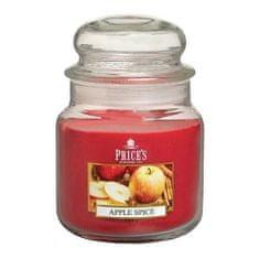 Price's Candles Svíčka ve skleněné dóze Price´s Candles, Pikantní jablko, 411 g