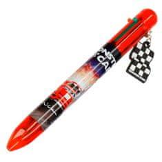 Monster Cars Guličkové pero ASST, Červená, 6 farieb