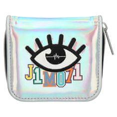 J1MO71 pénztárca, Szivárvány ezüst