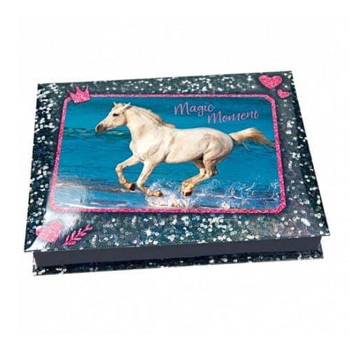Horses Dreams Pouzdro na kancelářské potřeby , Magic Moment, modré