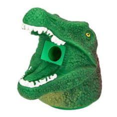 Dino World Ořezávátko ASST, Hlava dinosaura s dlouhou tlamou, zeleno-červená