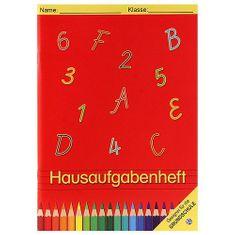 Trötsch Verlag Školní sešit Idena, na domácí úkoly