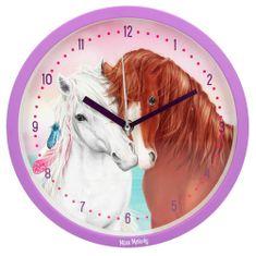 Miss Melody Nástěnné hodiny , a Pelly, fialové