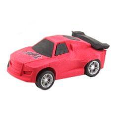 Monster Cars Guma v tvare auta ASST, Farba červená