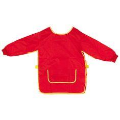 Idena Munkakötény gyermekeknek, piros, 9-10 év
