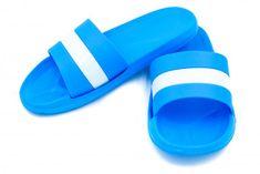 Dámske šľapky FLAMEshoes B-2013-1 modré