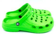 Dámske clogsy FLAMEshoes A-002 zelené