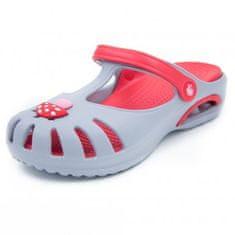 Detské clogsy FLAMEshoes D-3003 sivé