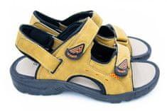 Pánske sandále TexBase béžové