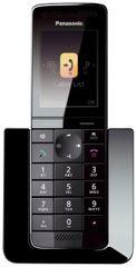 PANASONIC KX-PRS110FXW Panasonic - premium series DECT telefón, 2,2 farebný LCD displej, telefónny zoznam 300kontaktů