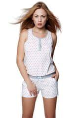 Sensis Dámské pyžamo Selena bílá - Sensis