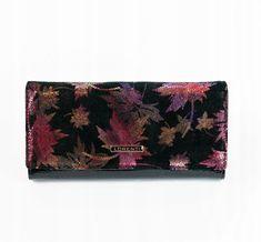 Lorenti Extravagantní kožená dámská peněženka Lorenti, fialová