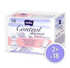 Bella Control Discreet Micro á 18 ks × 2