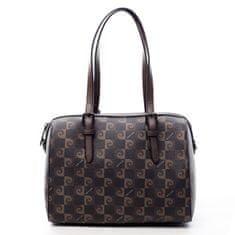 Pierre Cardin Dámská luxusní koženková kabelka Erin Pierre Cardin hnědá