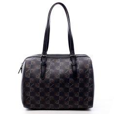 Pierre Cardin Dámská luxusní koženková kabelka Erin Pierre Cardin černá