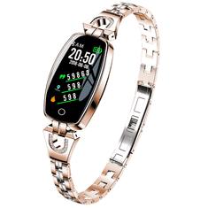 Smartomat Chicband zlatá, dámsky fitness náramok (smatrwatch)