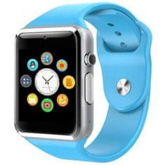 Smartomat Squarz 1 - niebieski, smart watch (inteligentny zegarek)