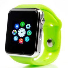 Smartomat Squarz 1 - zielony, smart watch (inteligentny zegarek)