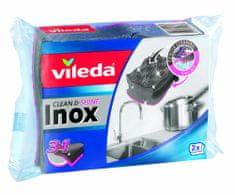 VILEDA Inox hubka 2 ks
