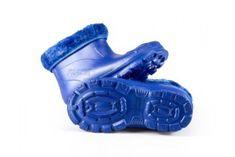 Detské zateplené boty FLAMEshoes X-6005 modré