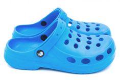 Dámske clogsy FLAMEshoes A-002 modré