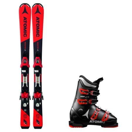Atomic Půjčení lyžařského setu (lyže 90 cm, boty 17.5, vak)